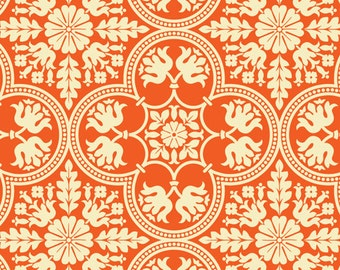 Notting Hill by Joel Dewberry - Historic Tile JD068 Tangerine - select a length