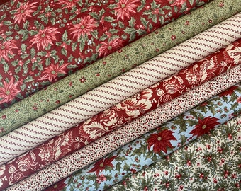 MARCHES DE NOEL Christmas fabric by 3 Sisters for Moda, Quilting Cotton  ~ choose a length
