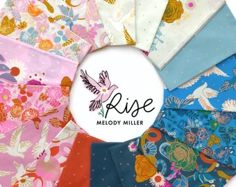 Rise, Melody Miller - Ruby Star Society, Half Yard Bundle, 16 pieces, Fabric Quilting Cotton