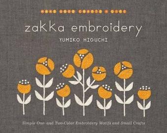 Zakka Embroidery Book by Yumiko Higuchi