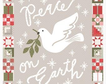 Peace on Earth PANEL - Christmas Morning MODA 5149-11P with options