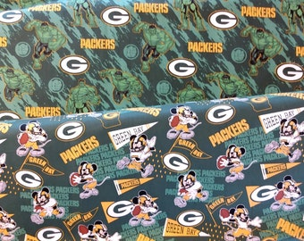 NFL licensed fabric -  Marvel and Disney mashup - select a length
