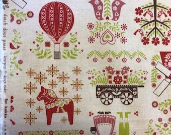 Cotton Linen Fabric for Kokka Japan, HGA1000-102A