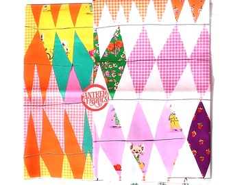TRIXIE by Heather Ross - Collage patchwork cotton fabric - select fat quarter bundle or half-yard cut