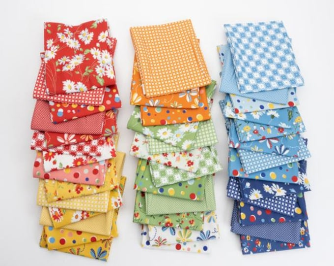 Featured listing image: Story Time by American Jane for Moda Fabrics - Assorted precuts