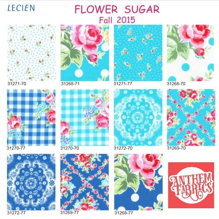 Fabulous Lecien Flower Sugar Fabric Bundle Fall Floral Roses Dots Download Free Architecture Designs Boapuretrmadebymaigaardcom