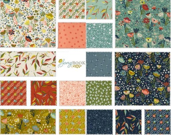 Songbook fabric by Moda ~ 18 fat quarters with panel option