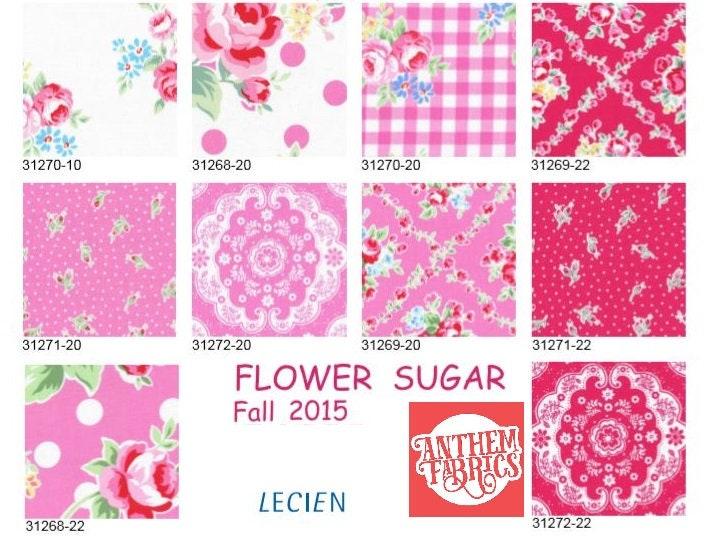 Wondrous Lecien Flower Sugar Fabric Bundle Fall Floral Roses Dots Download Free Architecture Designs Boapuretrmadebymaigaardcom