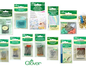 Pins by Clover Manufacturing Co. - Wonder Pins, applique, quilting, patchwork, etc.