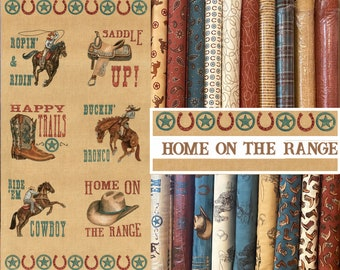 Home on the Range fabric by Deb Strain for Moda ~ 19 Fat Quarter Bundle with panel option
