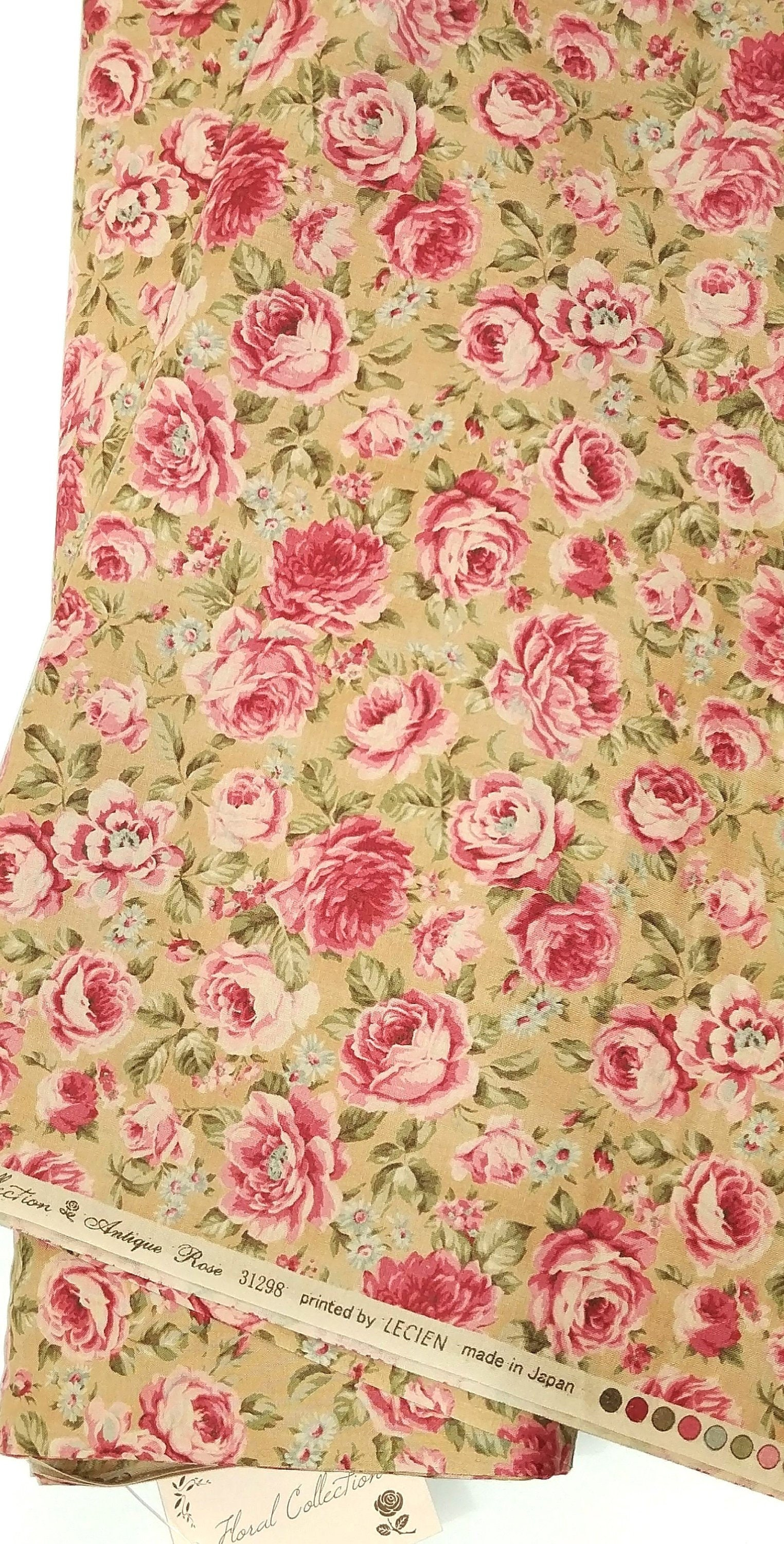 Prime Antique Rose Vintage Inspired French Shabby Chic Floral Fabric Download Free Architecture Designs Boapuretrmadebymaigaardcom