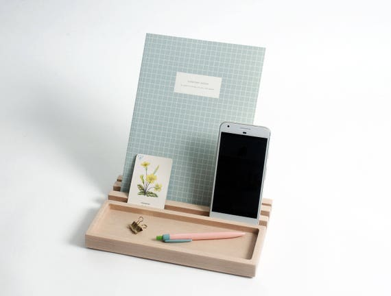 Desk Organiser Gifts Ideas For Boyfriends Ipad Stand Desk Tidy Home Office Fathers Day Gift Phone Stand Work Space
