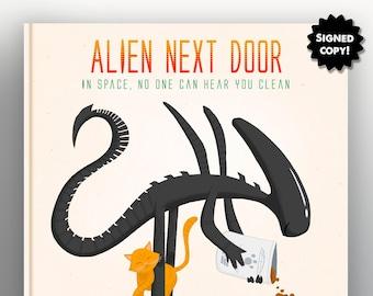 Alien Next Door - Signed by Author