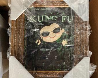 I Know Kung Fu - FRAMED 8x10 PRINT