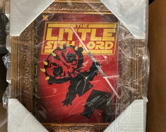The Little Sith Lord - FRAMED 8x10 PRINT