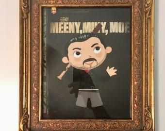 Eeny Meeny, Miny, Moe - FRAMED 8x10 PRINT