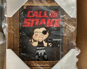 Call Me Snake - FRAMED 8x10 PRINT