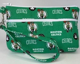 Boston Celtics Large Wallet with Detachable Strap