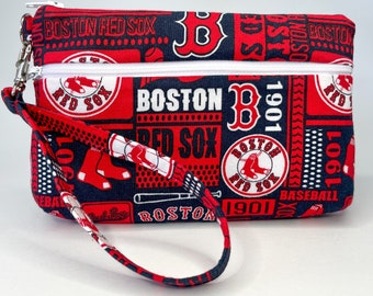 Boston Red Sox Large Wallet with Detachable Strap