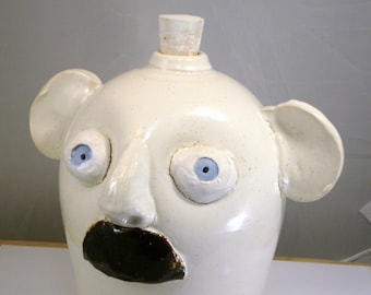 Big Ears jug handmade decorative