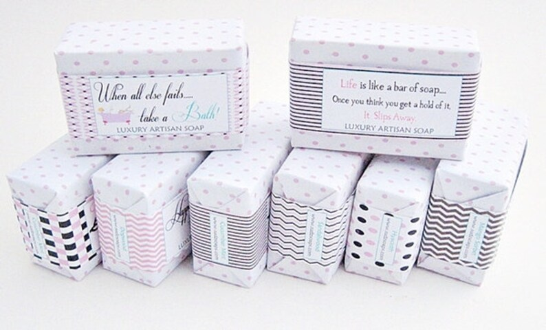 Personalized Soap Favors Hostess Gift Guest Soaps Stocking image 0