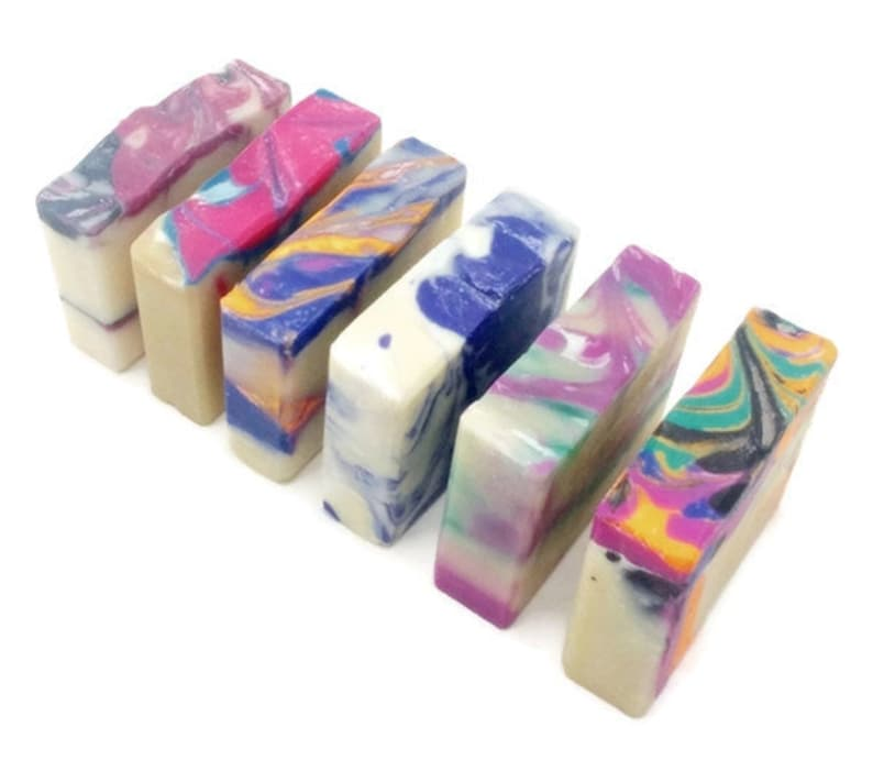 Soap Gift Set of Fun Flirty Scents Vegan Soap Gift Set For Her image 0