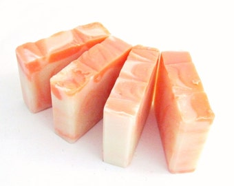 Juicy Peach Premium Homemade Soap Vegan & Natural Yum!