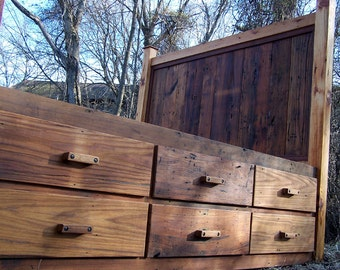 rustic platform beds with storage. 12 Drawer Rustic Reclaimed Wood Platform Storage Bed Beds With