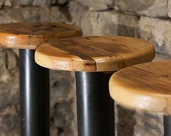 Strange Outdoor Bar Stools Etsy Beutiful Home Inspiration Ommitmahrainfo