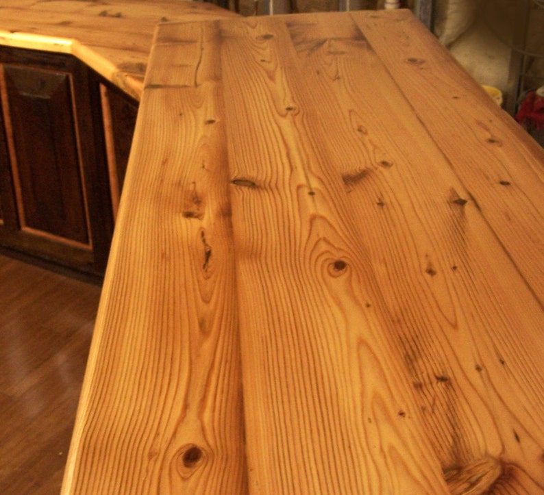 Beau FREE SHIPPING! Custom Reclaimed Wood Plank Countertops For 45 Dollars A Sq  Ft