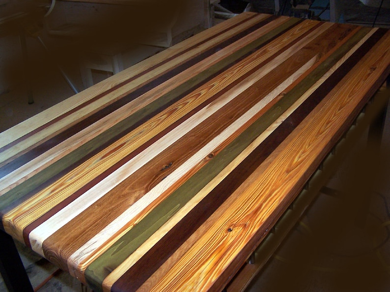 Exceptionnel FREE SHIPPING   Custom Reclaimed Wood Butcher Block Countertops For 75  Dollars A Sq Ft