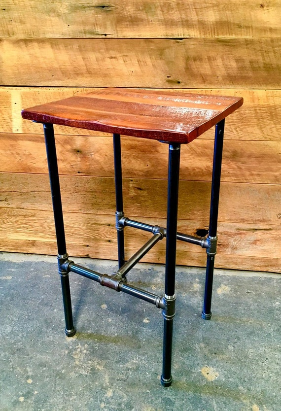 Tremendous Free Shipping Steamfitter Industrial Pipe Bar Stools Classic Look For Your Mancave Brewery Basement Bar Or Kitchen Evergreenethics Interior Chair Design Evergreenethicsorg
