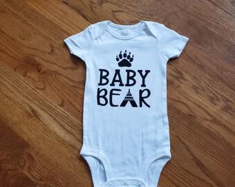 Onesie/Bodysuit - Baby Bear - Groovy Gurlz - Carters Onesie - Vinyl Embellished Bodysuit - Baby Onesie - Toddler Onesie - Child Onesie