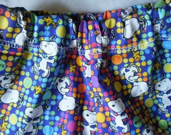 SALE - Girls Snoopy Print Cotton Shorts - Size 3T/4T