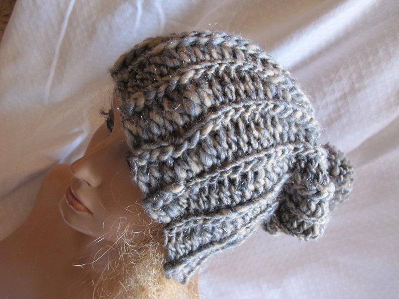 646dbf3447f Limestone Iced Chunky Ribbed Slouchy Hat Ski Hat Slouchy
