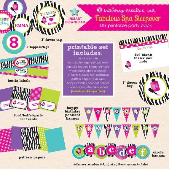 Hot Pink, Aqua & Zebra Birthday
