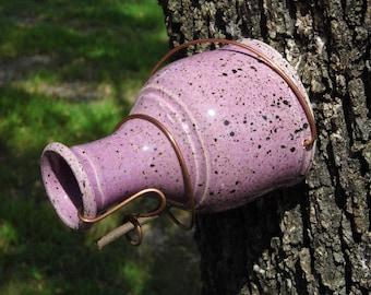 Purple Bird Bottle