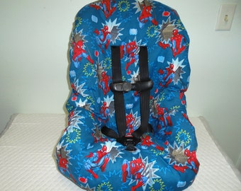 Spiderman Toddler Car Seat Cover