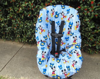 Mickey Mouse  toddler car seat cover