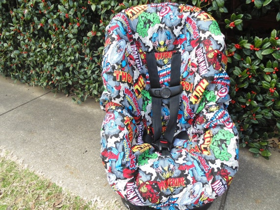 Incredible Marvel Characters Toddler Car Seat Cover Dailytribune Chair Design For Home Dailytribuneorg