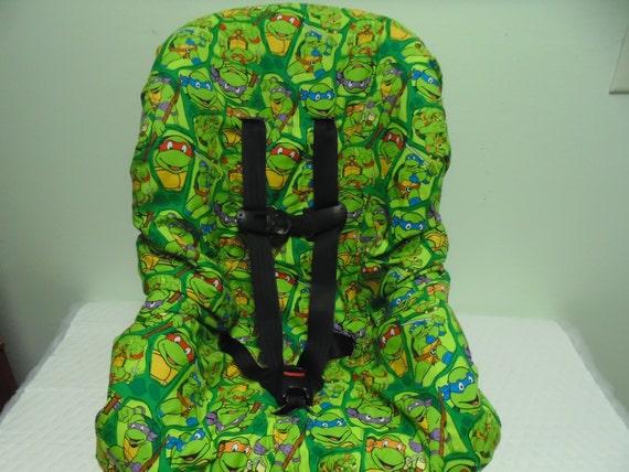 Ninja Turtles Toddler Car Seat Cover