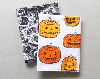 Halloween Kitchen Towel Soft 100% Cotton Flannel Dish Towel - Halloween Gift Decoration XL Reusable Paper Towel Pumpkins Washable tea-towel
