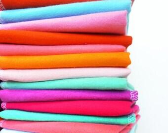 100 Wedding Napkins - Bulk Cloth Napkins - Green Wedding Supplies Eco Friendly - Bulk Unpaper Towels or Reusable Paper Towels Family Pack