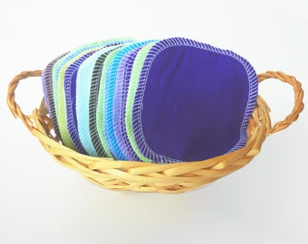 30 Cloth Wipes Family Cloth Reusable Cotton Rounds