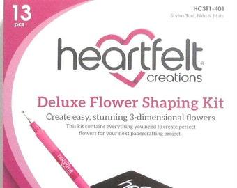 Heartfelt Creations Deluxe Flower Shaping Kit HCST1-401