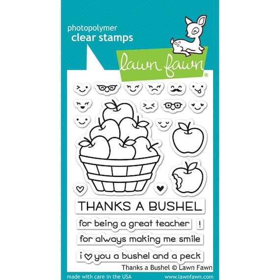 Lawn Fawn Happy Everything 4x6 Clear Stamps LF430