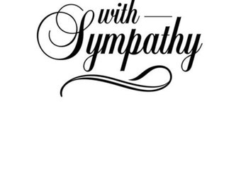 Darice A2 Embossing Folder With Sympathy 1218-121