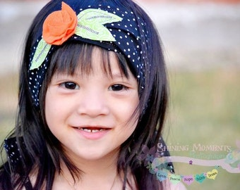 Fabric Headband Pattern- How To Boutique Style PDF Pattern INSTANT DOWNLOAD