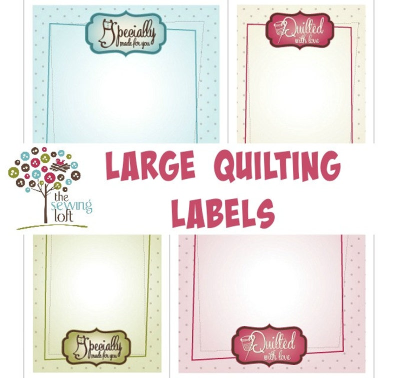 image relating to Printable Quilt Labels identify Major Printable Quilt and Sewing Labels