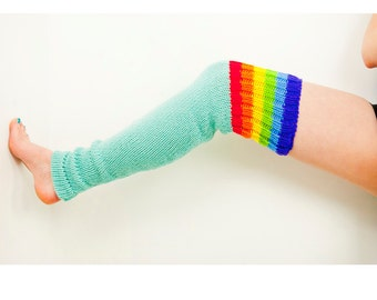 Rainbow Dash and Blue Legwarmers Hand made Christmas Gift